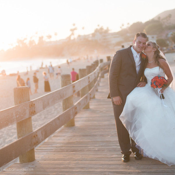 Sneak Peak - Laguna Beach Wedding