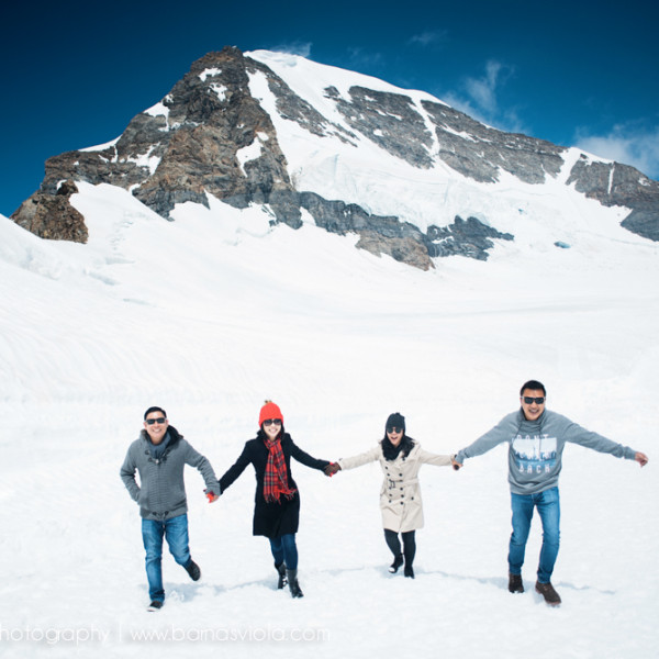 Vacation Photographer Geneva, Switzerland for Double Dates Summer Holiday in Grindelwald and Jungfrau