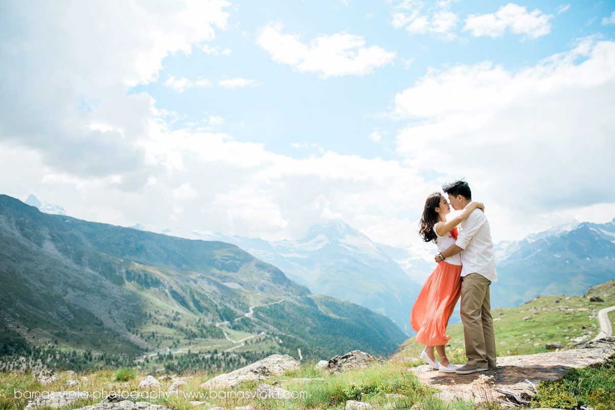 zermatt vacation wedding engagement photography